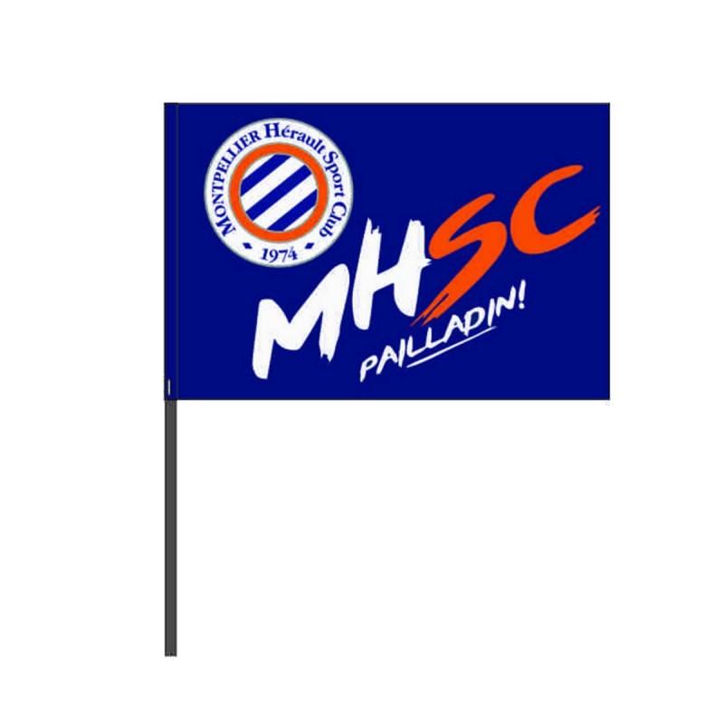 Drapeau bâton MHSC