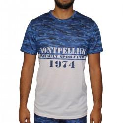 T-shirt camouflage blanc MHSC