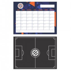 Lot de 2 stickers mémo MHSC