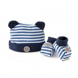 Bonnet et chaussons MHSC