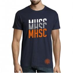 T-shirt Bleu MHSC