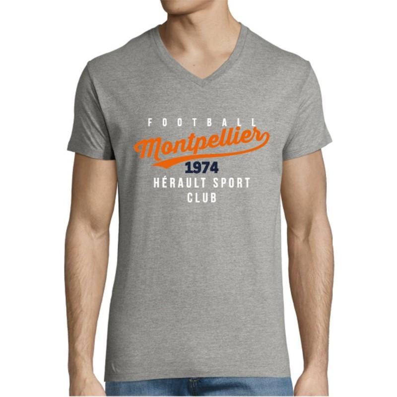 T-shirt Gris MHSC