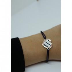 Bracelet coeur MHSC